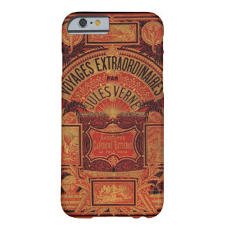 Jules Verne-Buch Extraordianary Voyages Steampunk Barely There iPhone 6 Hülle