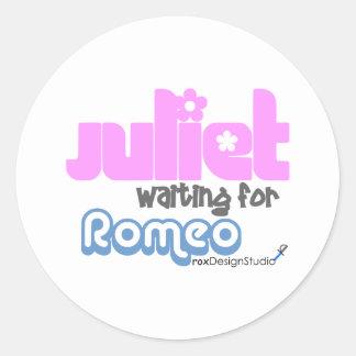 Juliet wartete Romeo Aufkleber