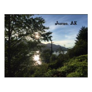 Juneau, AK Postkarte