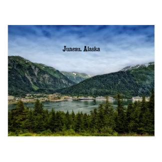 Juneau, Alaska Postkarte