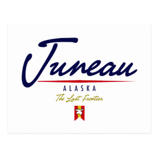 Juneau-Skript Postkarte