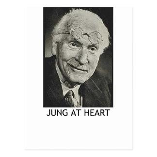 Jung am Herzen Postkarte