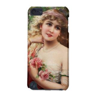 Junge Dame mit Rosen iPod Touch 5G Hülle