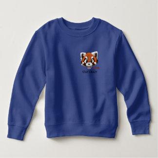 Jungen BLEIBEN VERRÜCKTES vorderes Sweatshirt