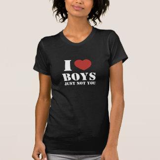 Jungen des Herzens I - gerade nicht Sie (weißer T-Shirt