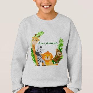 JungenSweatshirt tierisch Sweatshirt