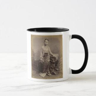 Junges birmanisches Mädchen, c.1875 Tasse