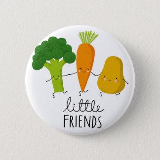 junges Gemüse Runder Button 5,1 Cm