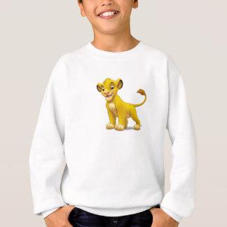 Junges stehender Disney Löwe-Königs Simba Sweatshirt