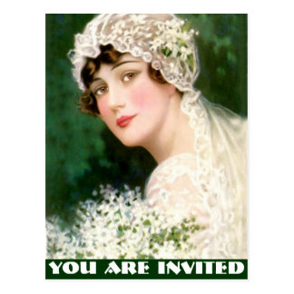 Junggeselinnen-Abschied, Brautparty, Henne-Party…. Postkarte