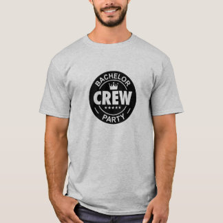 Junggeselle-Party-Crew T-Shirt