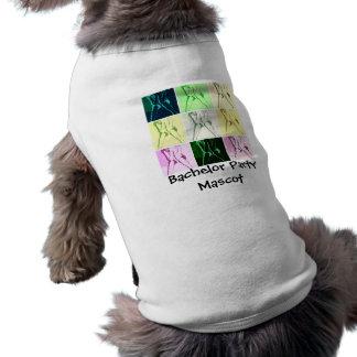 Junggeselle-Party-Geschenke Ärmelfreies Hunde-Shirt