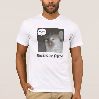 Junggeselle-Party-Spaß T-Shirt
