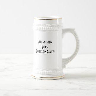 Junggeselle-Party-Tasse Bierkrug