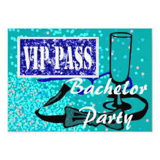 Junggeselle-Partyhirsch laden ein 12,7 X 17,8 Cm Einladungskarte