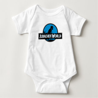Jurachick Welt - der Korb ist offen Baby Strampler