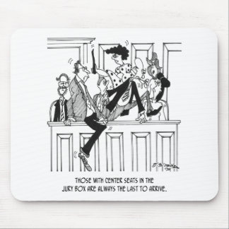 Jury-Cartoon 4657 Mousepads