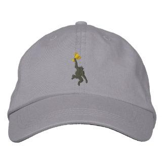 Justierbarer Affen-Hut Bestickte Baseballkappe