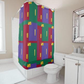 Juwel tont modernen geometrischen Duschvorhang