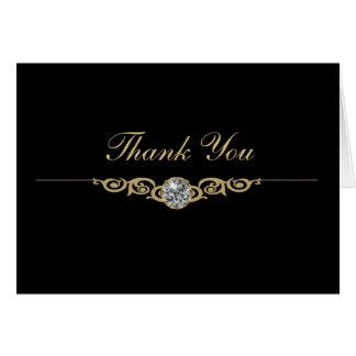 Juwelier-Geschäft danken Ihnen Karten