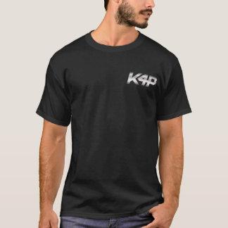 K4P Logo-Silber-Chrom T-Shirt