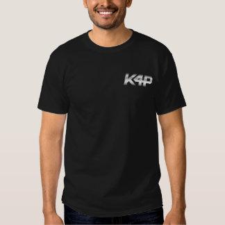 K4P Logo-Silber-Chrom Tshirts