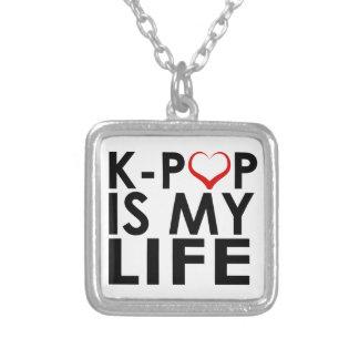 K-POP IST MEIN LEBEN ♡ VERSILBERTE KETTE