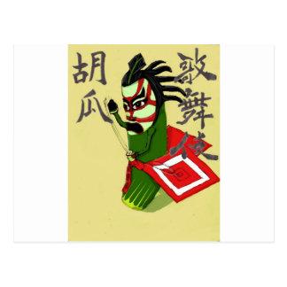 Ka-Cu-Papier Postkarte
