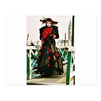 Kabuki Geisha-Entwurf Postkarte