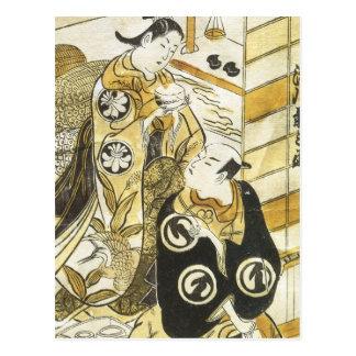 Kabuki Torii Schulkunst-Drucke 1730 Postkarte