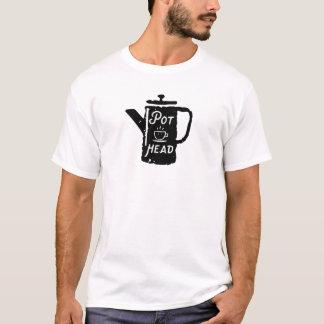Kaffee - Kiffer-lustiger Kaffee T-Shirt