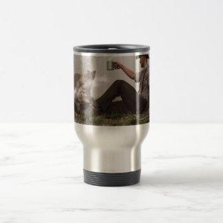 Kaffee mit einem Puma Reisebecher