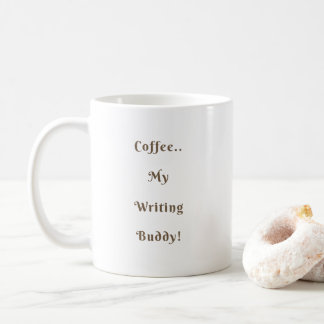 Kaffee-Schreibens-Freund-klassisches Kaffeetasse