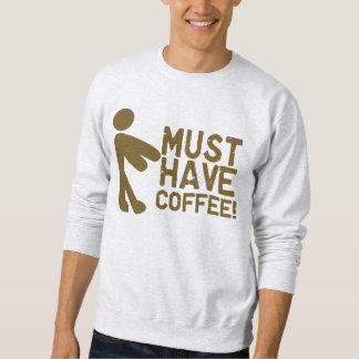 Kaffee-Süchtig-Morgen Java Sweatshirt