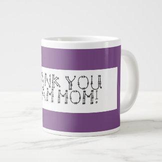 Kaffee-Tasse; Danke Team Mamma Jumbo-Tasse
