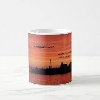 Kaffee-Tasse mit Bild des hellen Hauses am Tasse