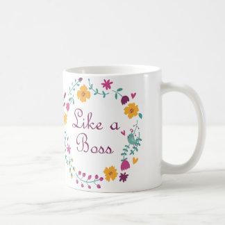 Kaffee-Tasse mögen einen Chef Tasse