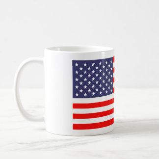 Kaffee-Tassen der amerikanischen Flagge Tasse