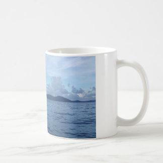 Kaffee-Tassen-Insel-Boots-Dock Kaffeetasse