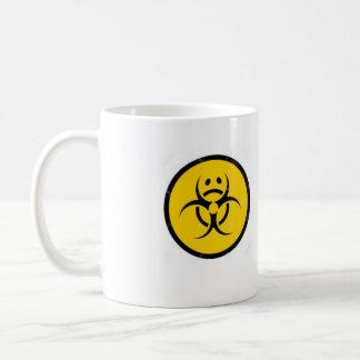 Kaffee-Tassen-trauriges Bio Kaffeetasse