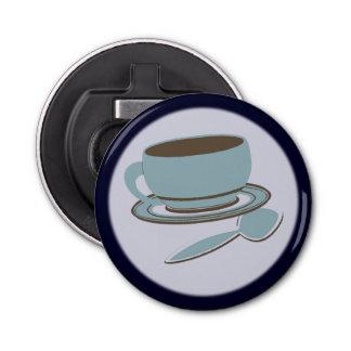 Kaffeetasse u. Löffel Flaschenöffner