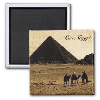 Kairo, Ägypten Quadratischer Magnet