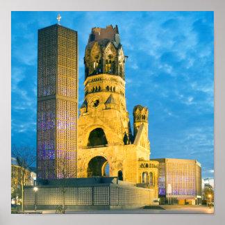 Kaiser Wilhelm Erinnerungskirche, Berlin Poster