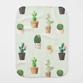 Kaktus Burpstoff Spucktuch