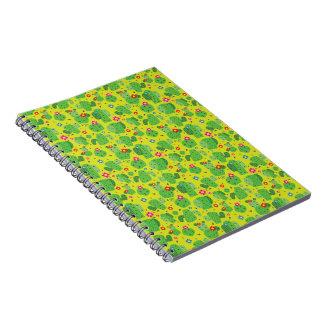 Kaktus ich Außenseite (Grün) - Notizbuch Notizblock