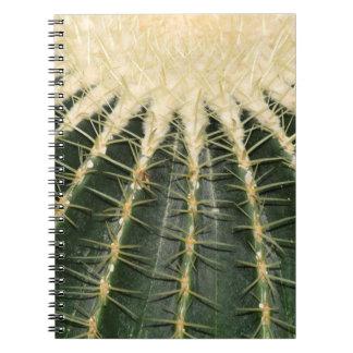 kaktus spiral notizblock