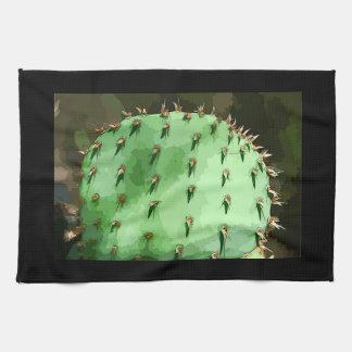 Kaktusfeige-Kaktus-Geschirrtuch Handtuch