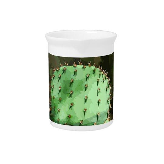 Kaktusfeige-Kaktus-Krug Getränke Krug