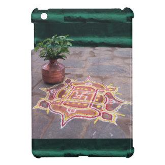 Kalas Vasen-Hakenkreuz rangoli indische Hochzeit iPad Mini Hülle