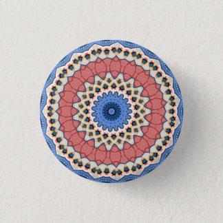 Kaleidoskop-BlumenMandala in Wien: Ed. 221,1 Runder Button 2,5 Cm